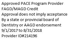 AGD/Pace Credits